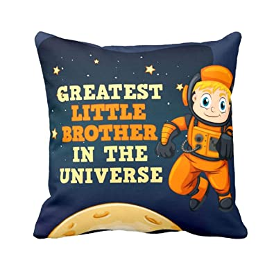 YaYa CafeTM Birthday Gifts For Brother Greatest Little Printed Cushion Cover 12 X Inches Rakhi Amazonin Jewellery