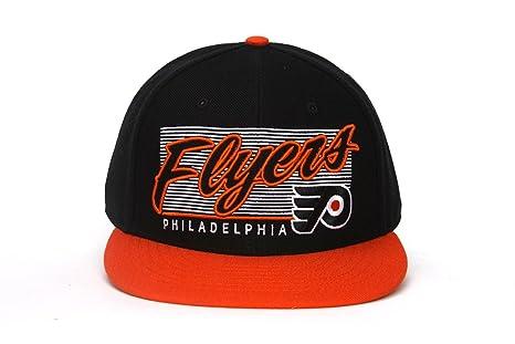 Amazon.com   NHL Philadelphia Flyers Kalvin Snapback Cap 03e8f873667