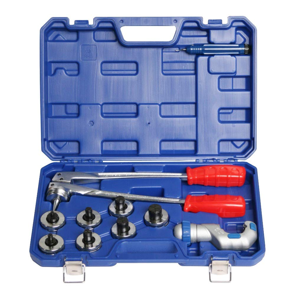MXBAOHENG Tube Expanding Tool Copper Pipe Expander Kit CT-100A 3/8'' to 1-1/8'' O.D. Tubing by MXBAOHENG