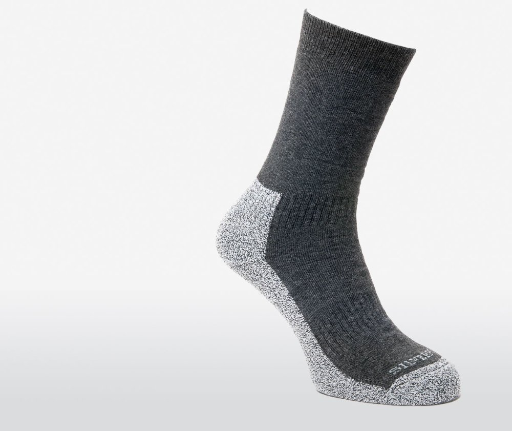 Mens Silverpoint Comfort Hiker Walking/ Trekking Socks (1 Pair) - Choose Size 1000