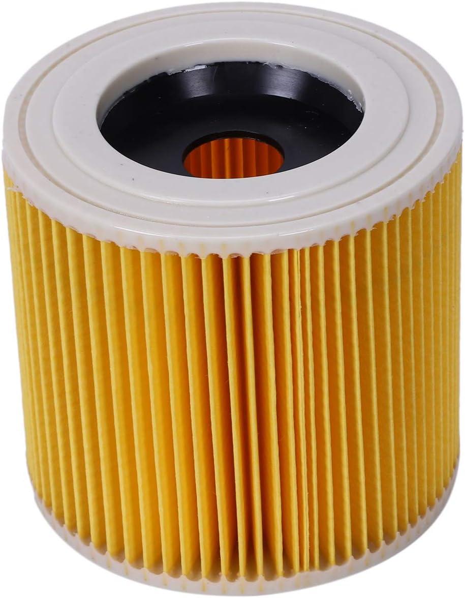 Nrpfell Reemplazo Bolsas De Filtros De Polvo De Aire para Karcher Piezas De Aspiradoras Filtro Hepa De Cartucho Wd2250 Wd3.200 Mv2 Mv3 Wd3: Amazon.es: Hogar