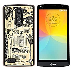 Dragon Case - FOR LG L Bello L Prime D337 - Classic beauty - Caja protectora de pl??stico duro de la cubierta Dise?¡Ào Slim Fit