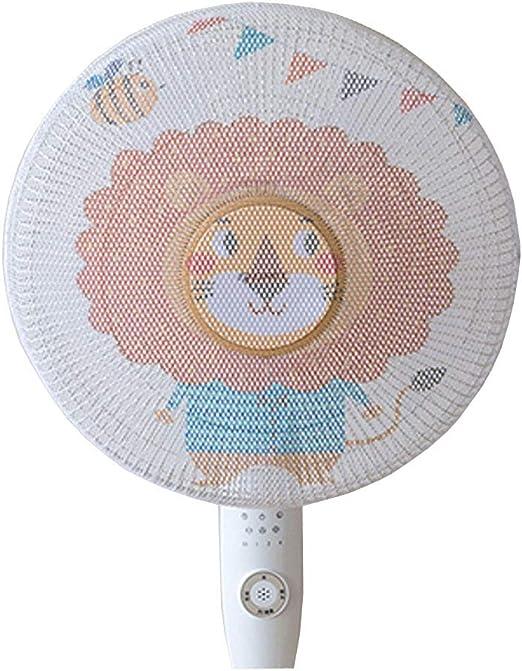 Maya Star Filtros de ventilador para niños, protector de dedos de dibujos animados para ventilador, cubierta de polvo, lavable a prueba de polvo, cubierta de seguridad – 16 pulgadas A01: Amazon.es: Hogar