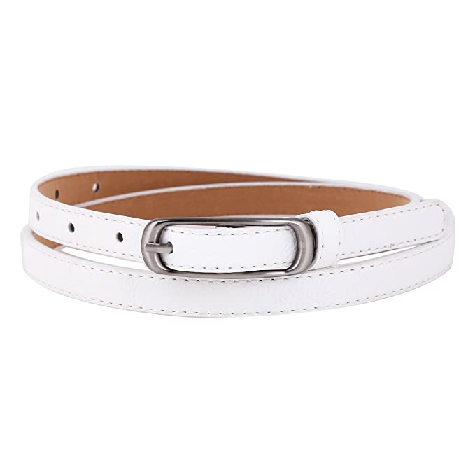 Vintage Wide Belts, Cinch Belts  Vintage Thin Mental Buckle Skinny Jeans Belt $8.59 AT vintagedancer.com