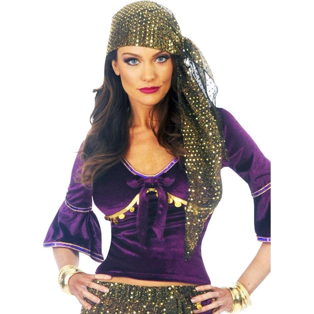 Amazon.com: Disfraz para adulto de Teller de la Fortuna ...