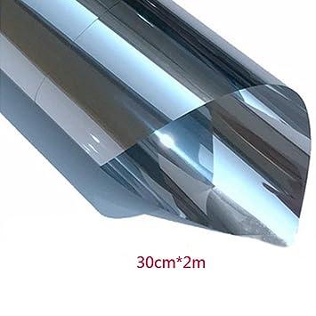 3m x 75cm Silber Sonnenschutzfolie Tönungsfolien Auto Spiegelfolie Fenster Neu