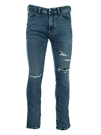 254823ec Diesel Men's Jogg Jeans Thavar Denim Pants Skinny Cotton Blue 00S5BL -  R78R3-01 (