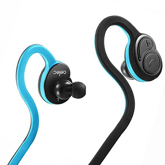 10386215561 AELEC Flexbuds Bluetooth Earbuds,Stereo Wireless Sport Headphones,Over-Ear  Noise Cancelling Earphones