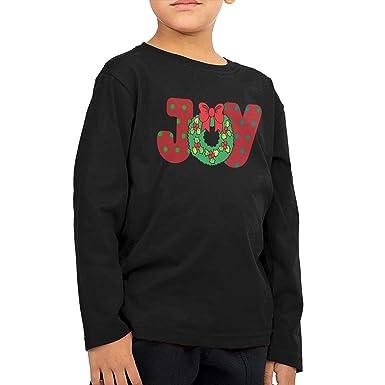Sunwan Joy - Camiseta de Manga Larga para niño con Corona navideña ...