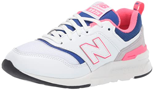 sale retailer 5b6fa 8dd52 New Balance Unisex Kids 997 Trainers, White (White), 10 UK (28