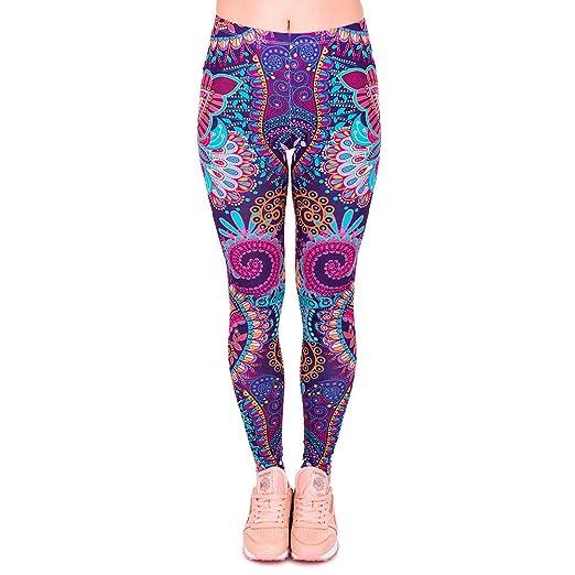 Womens Summer Fashion Print Sports Yoga Pants URPSA Running ...