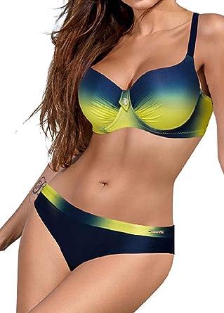 Femme Maillots de bain maillot de bain maillot de bain soutien-gorge Bikini Beachwear Floral Tankini