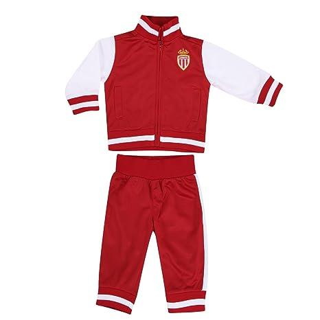 Chándal AS Mónaco - Colección oficial ASM FC - Talla bebé, Bebé ...
