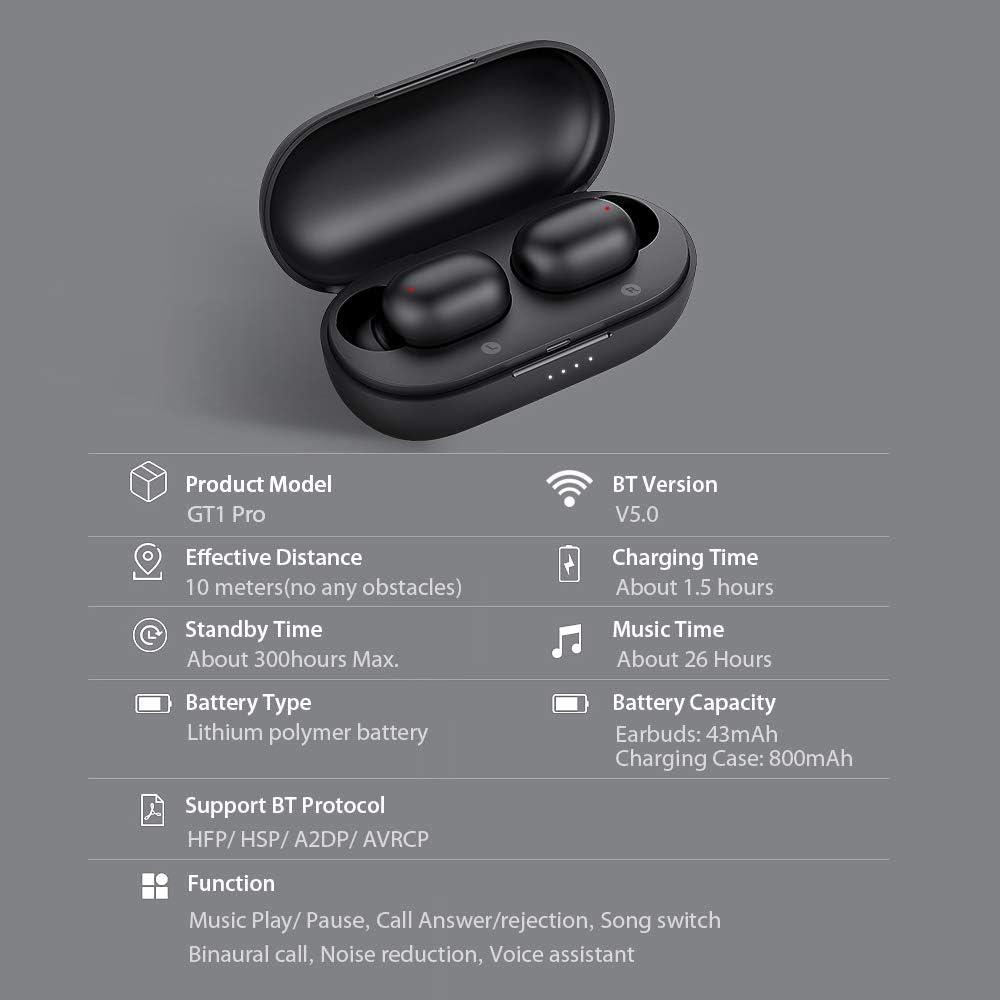 Haylou Gt1 Pro Wireless Earbuds Black Elektronik