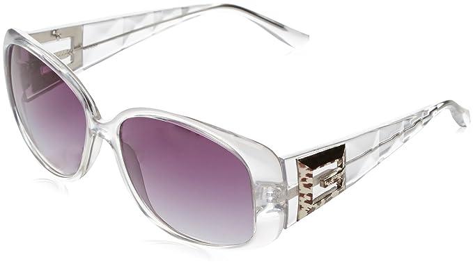 Guess GU7141 F93, Montures de lunettes Femme, Gris (Trasparente Grigio), 56 fb5b45709fb8