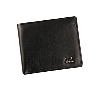 467a588f865e LEvifun Mens Wallet Credit Card Holder Designer Sale High Quality Bifold  Coin Pocket Purse (Black