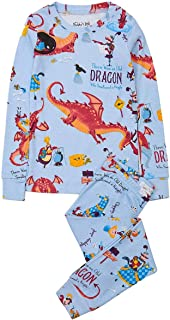 product image for Books to Bed Boys Pajamas - There was an Old Dragon Who Swallowed A Knight