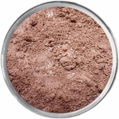 Brown Sugar Loose Powder Mineral Shimmer Multi Use Eyes Face Color Makeup Bare Earth Pigment Minerals Make Up Cosmetics By MAD Minerals Cruelty Free - 10 Gram Sized Sifter Jar -