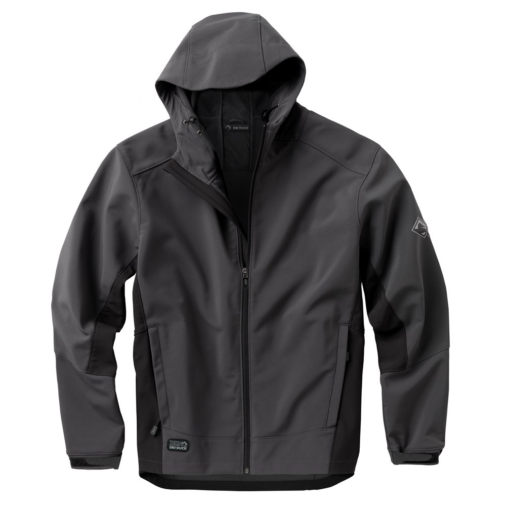 DRI Duck Mens 5367 Altitude Hooded Softshell Jacket