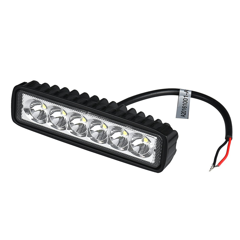 Amazon.com: Voberry 18W spotlight LED Light Work Bar Lamp Driving Fog Offroad SUV 4WD Car Boat Truck (Black): Musical Instruments