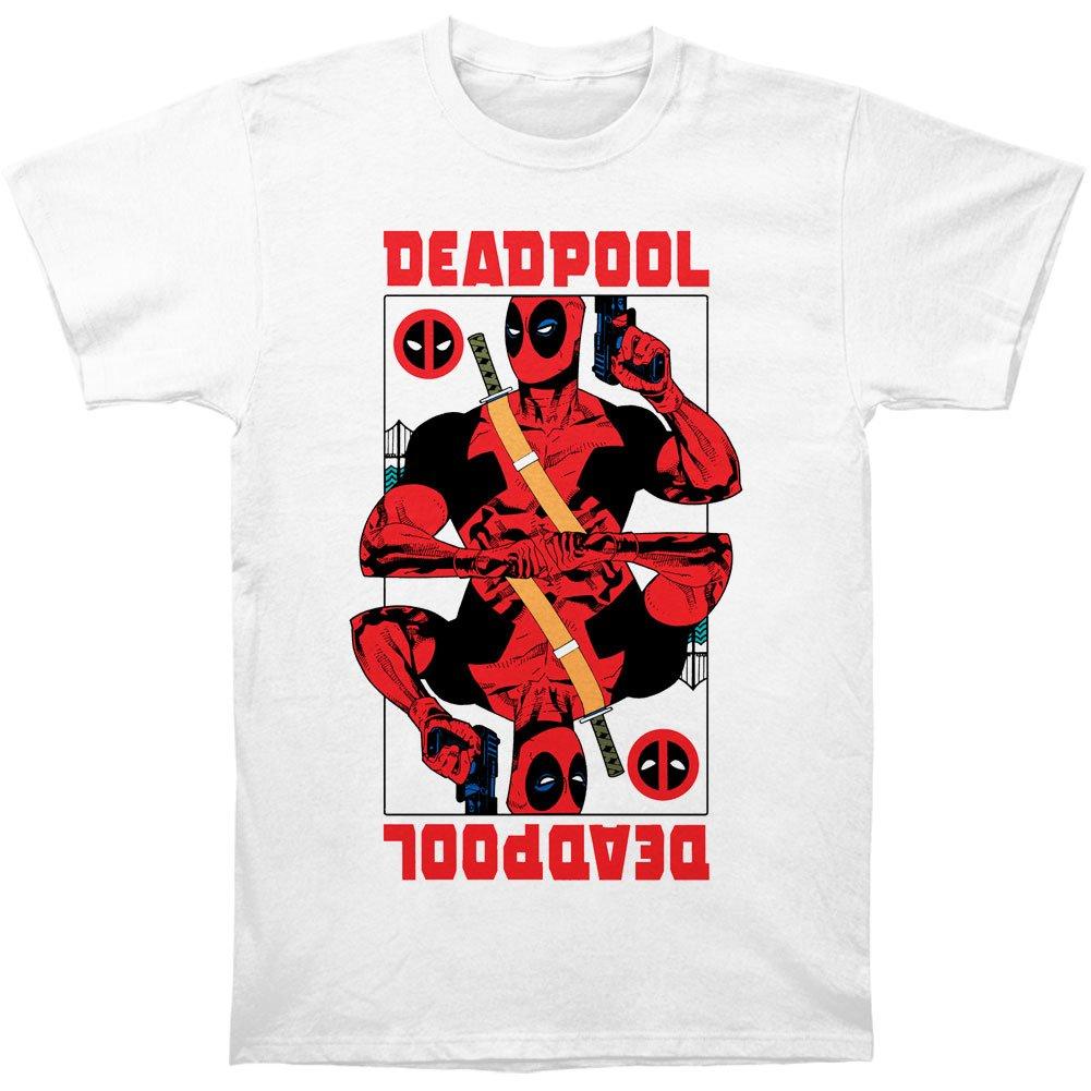 Deadpool SHIRT メンズ B00YNY7XN6  ホワイト Medium