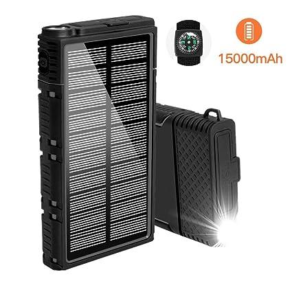 Amazon.com: Soyond Cargador de teléfono solar Power Bank ...