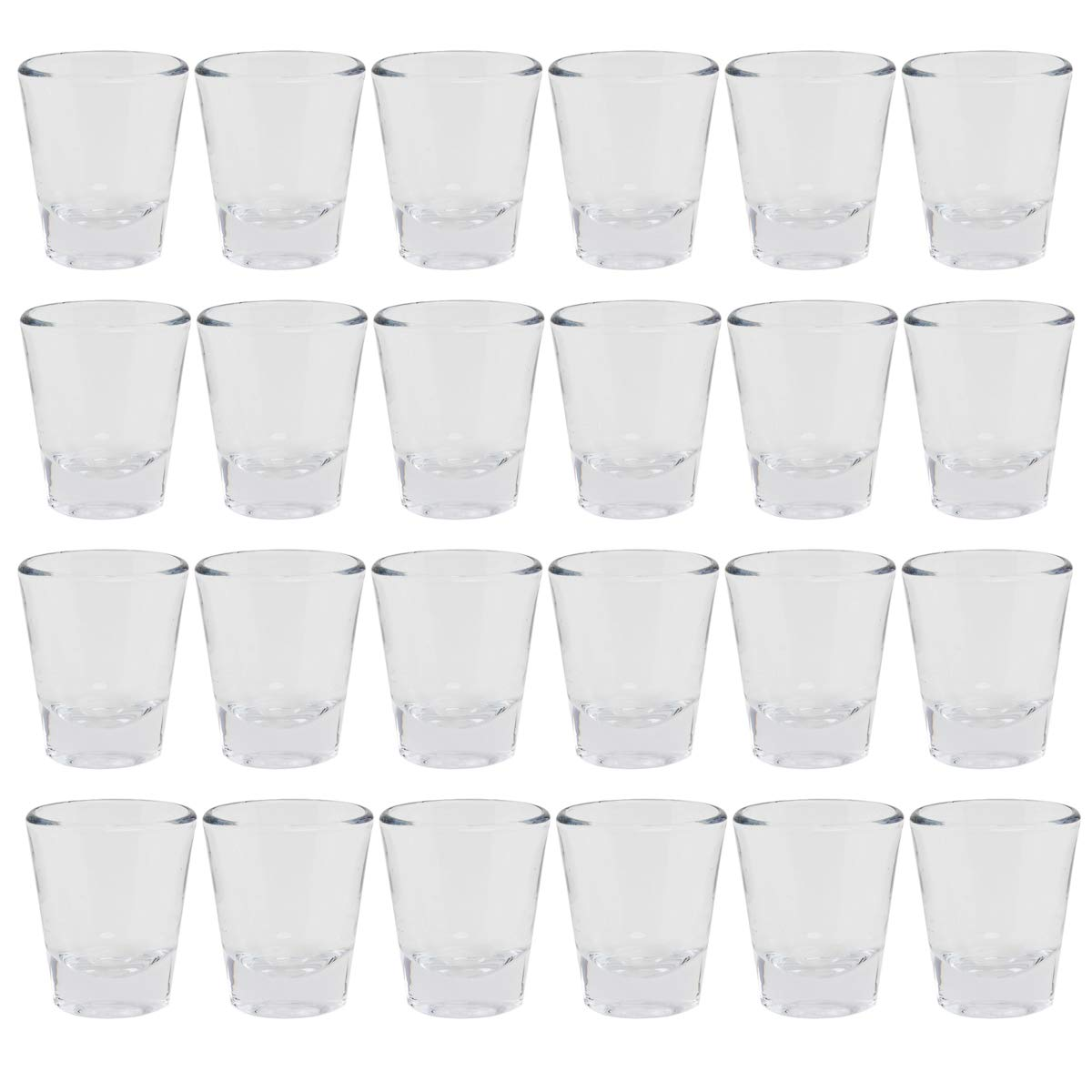 Anchor Hocking (24 Pack) Shot Glass Set 1.5oz Drink Glasses Dinnerware Party Bar Restaurant Supplies