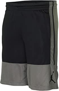5a633ea8aa8 Nike Air Jordan Rise Gray/Black Men's Basketball Shorts Grey Black AR2833  018