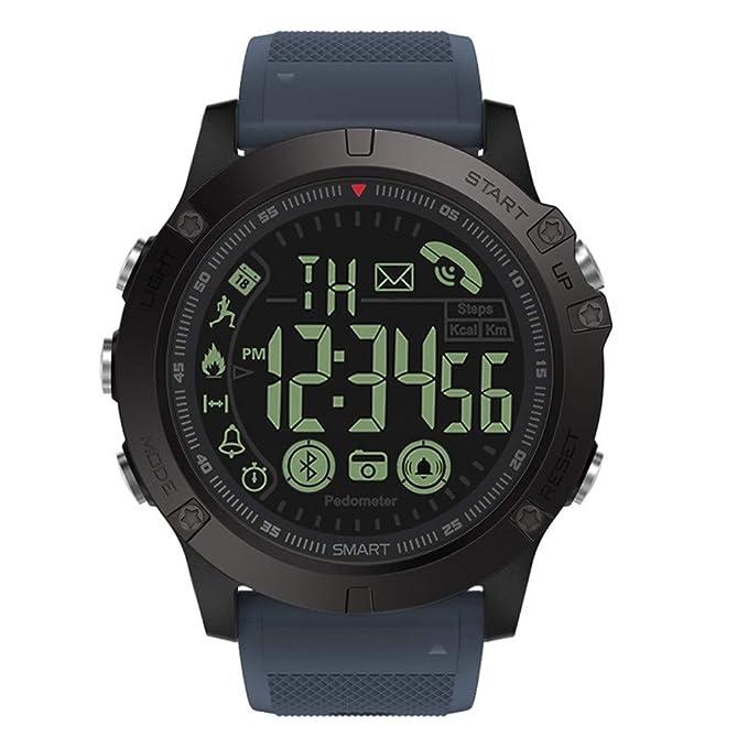 Amazon.com: Ecosin 2019 New Smartwatch Flagship Rugged Grade ...