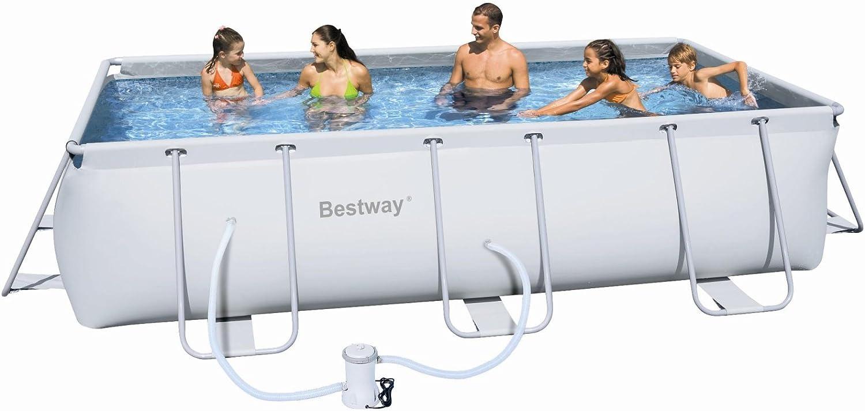 Bestway - Piscina Frame 488 x 274 x 122 cm + depuradora de ...