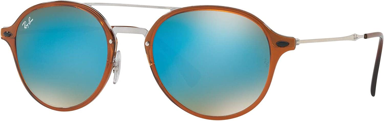 Ray-Ban Montures de lunettes Mixte Marron (Shiny Br)