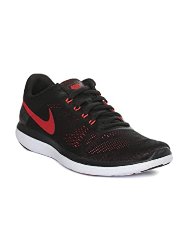 8ce4109035025 Nike Men s Flex 2016 Rn Running Shoe Black ember Glow white 10 D(M) US   Amazon.in  Shoes   Handbags