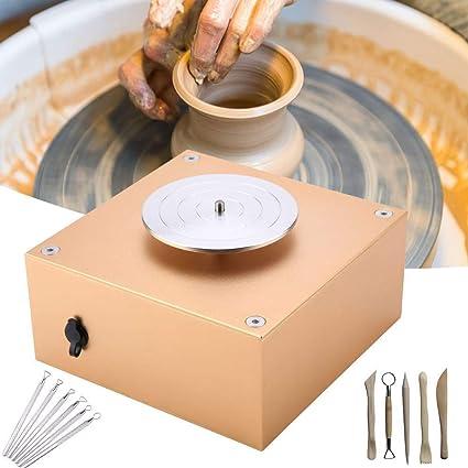 Électrique Tour Roue de Poterie Machine Plateau tournant Pottery roue céramique