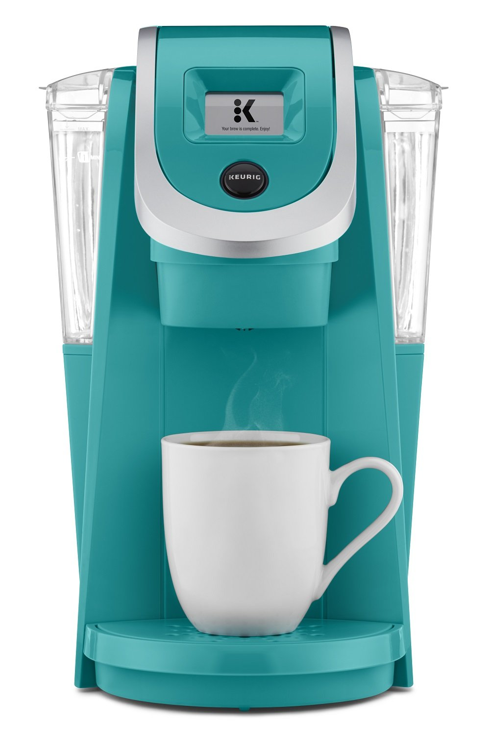 Keurig K250 Coffee Maker, Single Serve K-Cup Pod Coffee Brewer, With Strength Control, Turquoise by Keurig