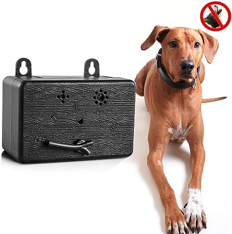 Outdoor Ultrasonic Pet Dog Stop Barking Annoying Bark Control Device 9V