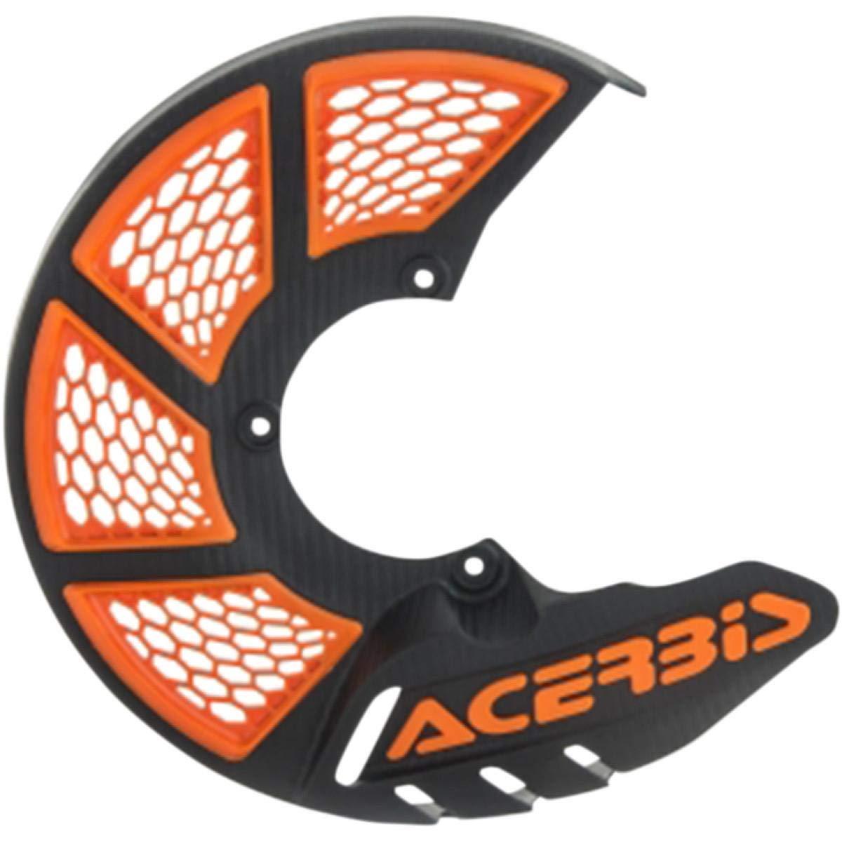 Acerbis X-Brake Vented Front Disc Cover Black//Orange