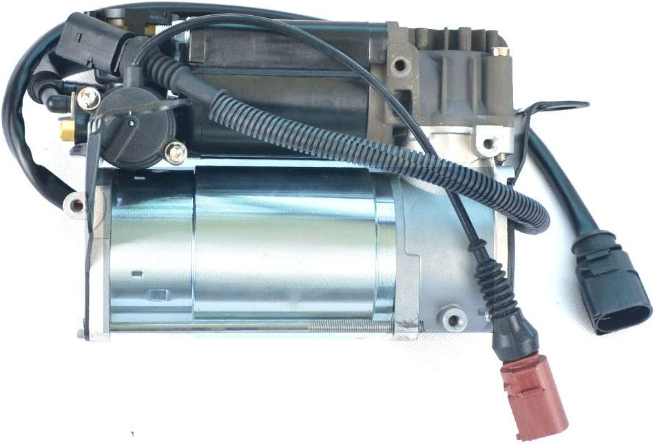 YH New Air Suspension Compressor Pump 1PC Fit for 2002-2010 Audi A8 S8 D3 Quattro 4WD Typ 4E Reference OEM 4E0616007E Front Rear Air Suspension Compressor