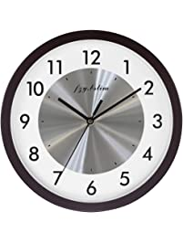 Wall Clock Battery Operated,Silent Non Ticking Quartz Wall Clocks For  Bedrooms,Easy To