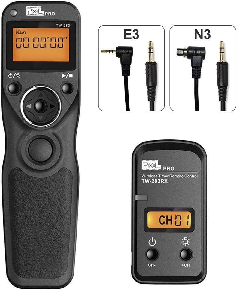 Mando a Distancia Disparador con 2 Cables de conexión E3/N3, Pixel ...