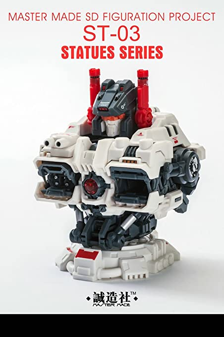 amazon com transformers master made statues series st 03 titan