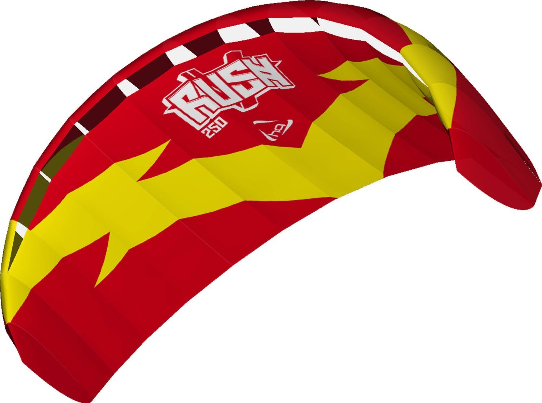 Direct HQ Kites and Designs 118032 Rush V 250 R2F Kite Pro-Motion Distributing