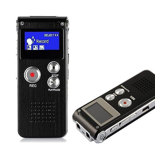 digital voice recorder iegeek 8gb 1536kbps usb sound electronics. Black Bedroom Furniture Sets. Home Design Ideas
