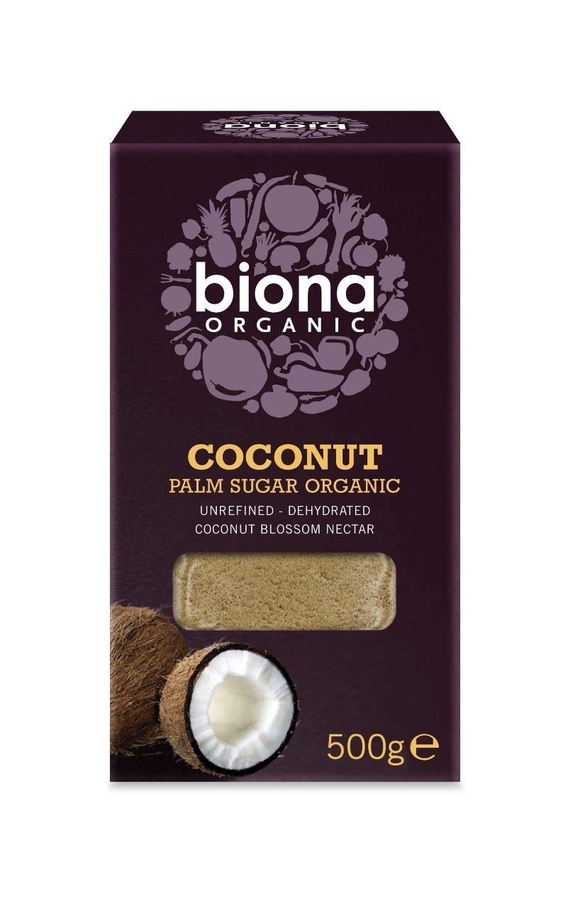 Biona Organic - Coconut Palm Sugar - 500g (Pack of 3) by Biona