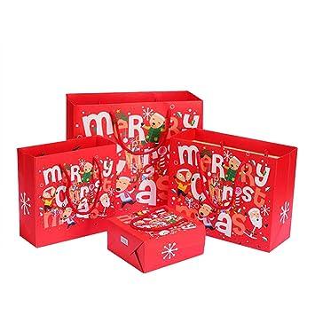Meigold - Bolsas de Navidad para dulces y manzanas, S 14 ...