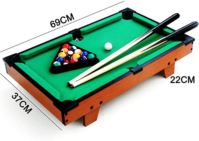 PN-Braes Mini Billar De Mesa en Miniatura Pool Juego fijado for ...