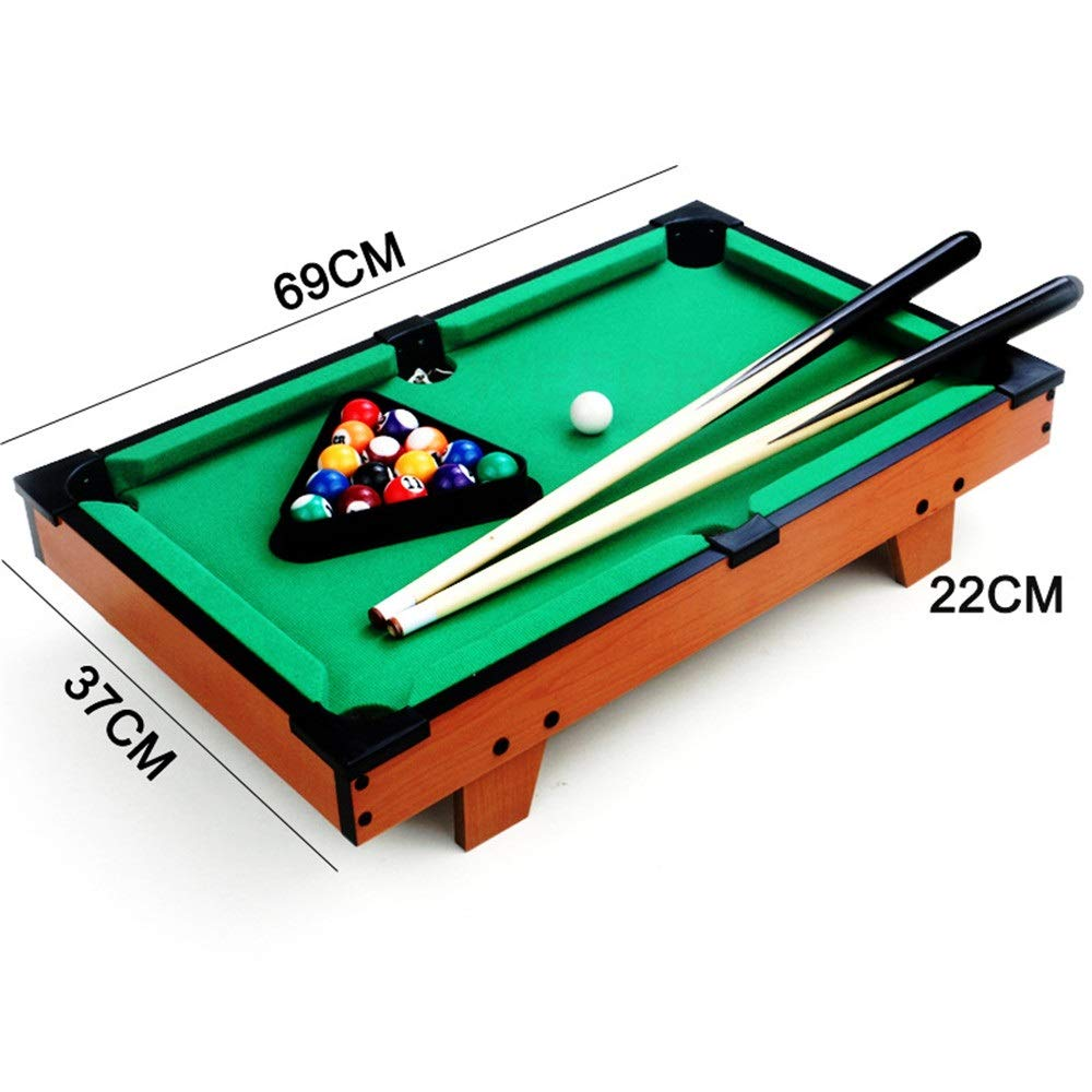 Tabla Top Pool Set Juguete mesa de billar Mesa de escritorio en ...