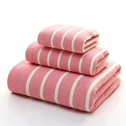 ZYJY Juego de Toallas de baño, Toalla de algodón, Toalla Invertida, 1 Toalla