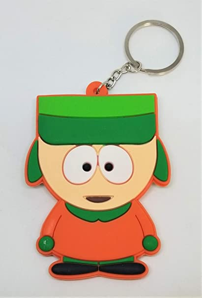 Amazon.com: South Park Kyle Broflovski Llavero de goma 3.0 ...