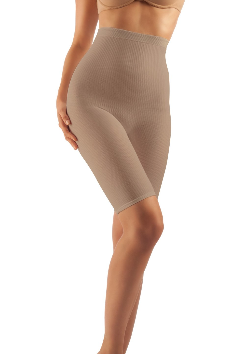 Farmacell 113 Shorts Hohe Taille, massierende und reduzierende Hose, Anti-Cellulite