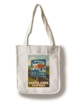 Santa Cruz, California Camper Van Bus Lane Sign Bolsa de ...